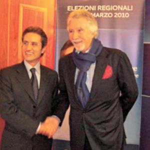 Con Caldoro nel 2010