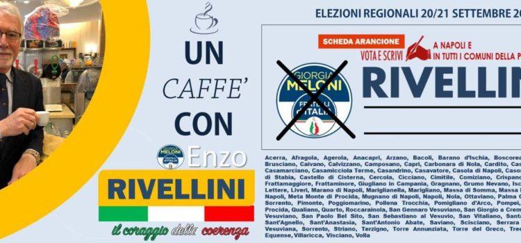 Il caffè con Enzo Rivellini